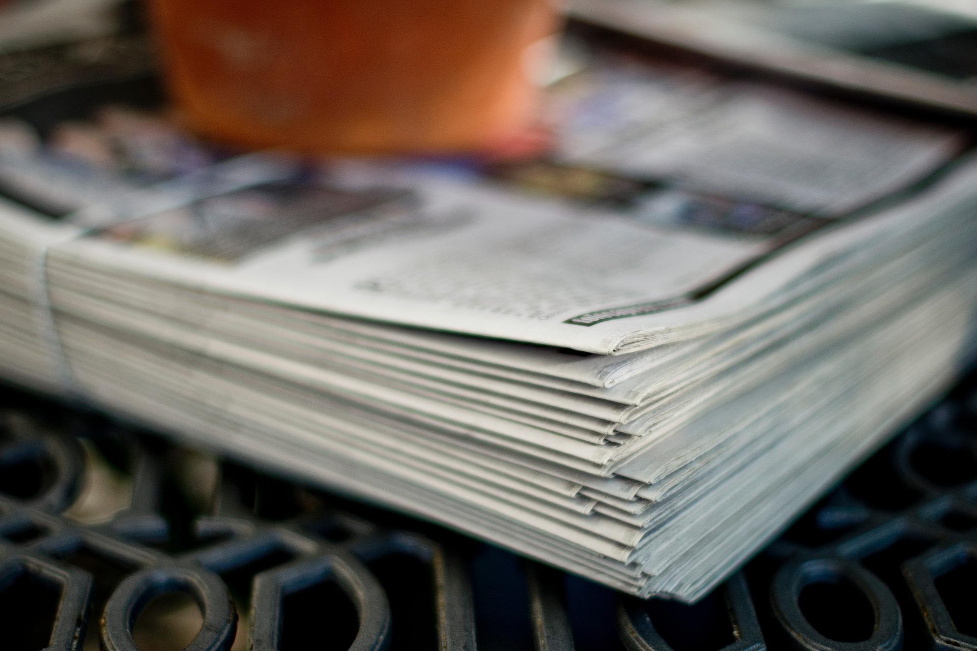 newspaper-2597618_1920